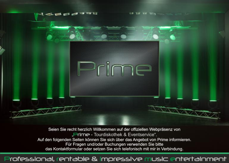Prime Startseite